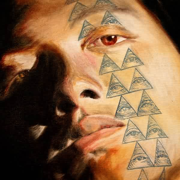 Kahawaii Pyramid Tattoos On Face