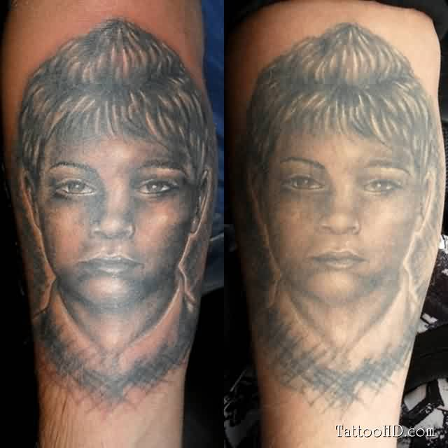 Kids Portrait Tattoos