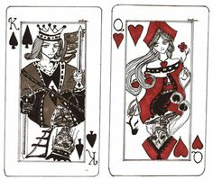 King And Queen Tattoo Designs