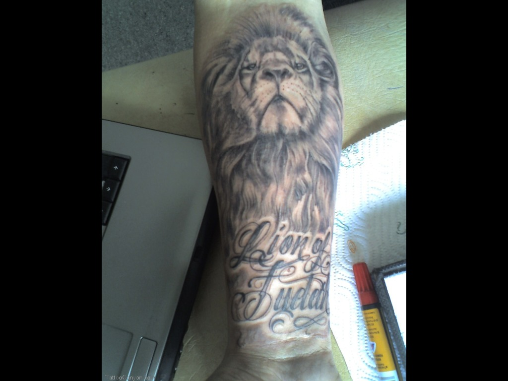 Lion Of Judah - Animal Tattoo