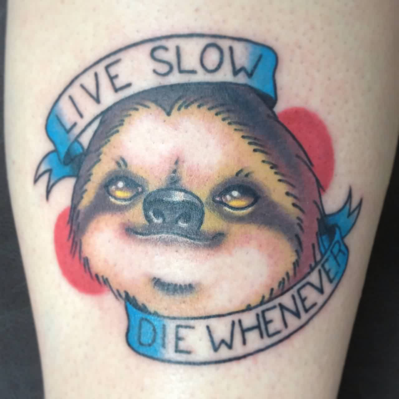 Live Slow Die Whenever - Animal Tattoo