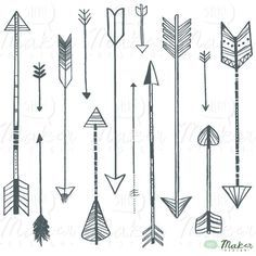 Many Arrow Tattoo Designs
