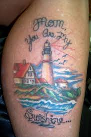 Mom You Are My Sunshine - Lighthouse Tattoo