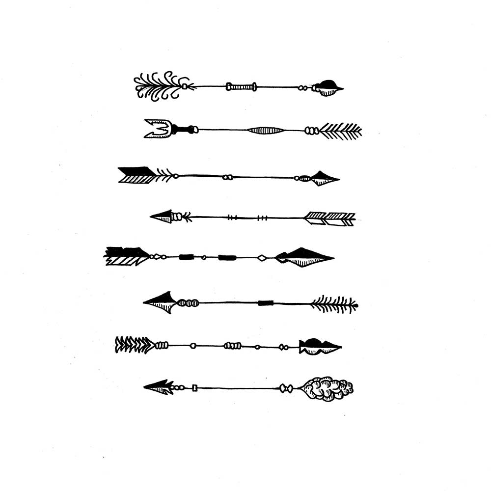 More New Arrow Tattoo Designs