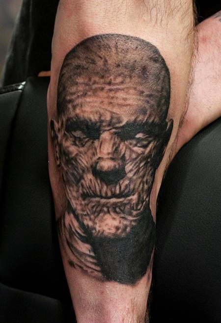 Mummy Portrait Tattoo