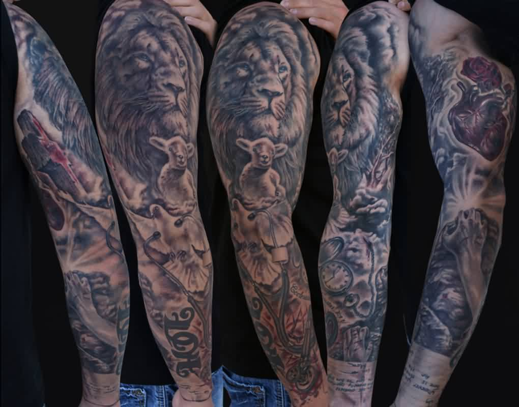 My Animal Tattoos On Sleeve