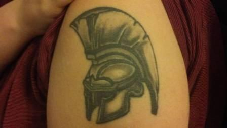 My Helmet Tattoo