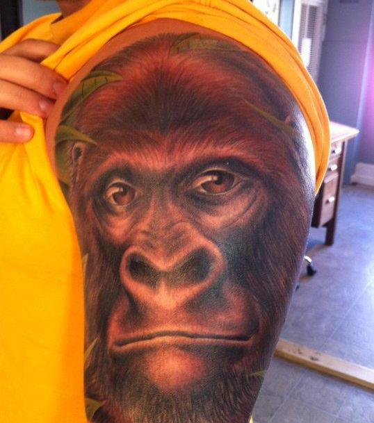 My King Kong Animal Tattoo
