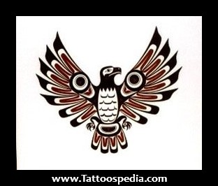 Native American Eagle Tattoo Photo