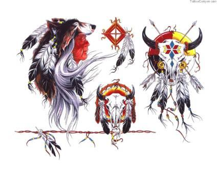 Native American Latest Tattoo Designs