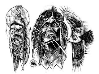 Native American Tattoo Designs (2)