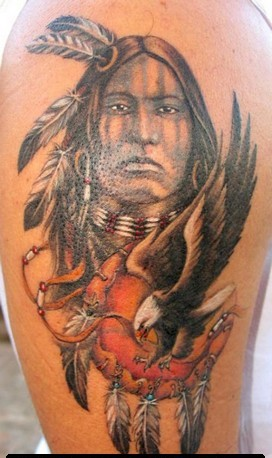 Native American Tattoos On Arm