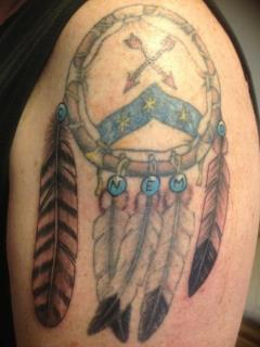 Native American Tattoos On Shoulder For Guys