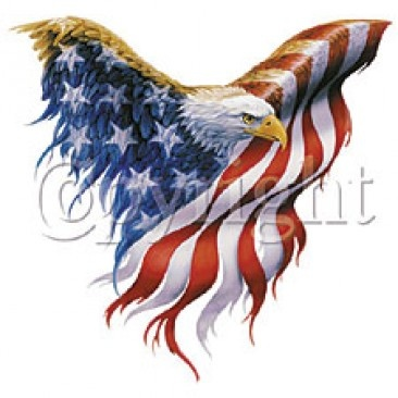 New American Tattoo Design