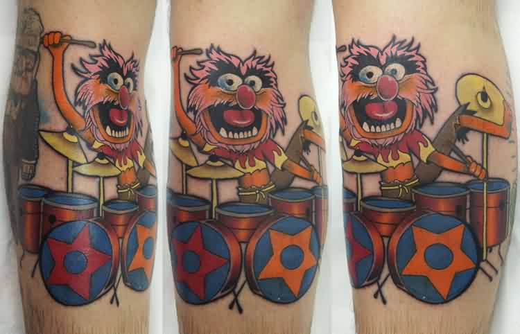 New Animal Muppet Tattoo