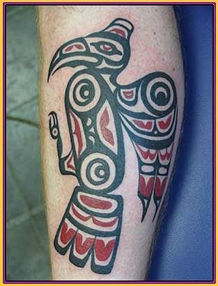 New Native American Tattoo Picture