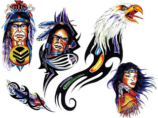 New Pack Of Native American Tattoo Designs