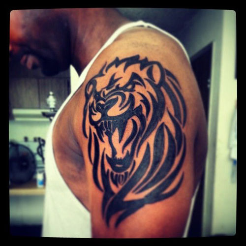 New Tribal Animal Tattoo Style For Men
