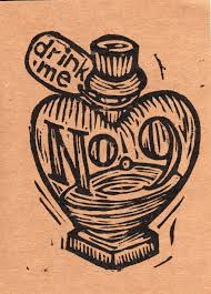 No. 9 Heart Shape Bottle Tattoo