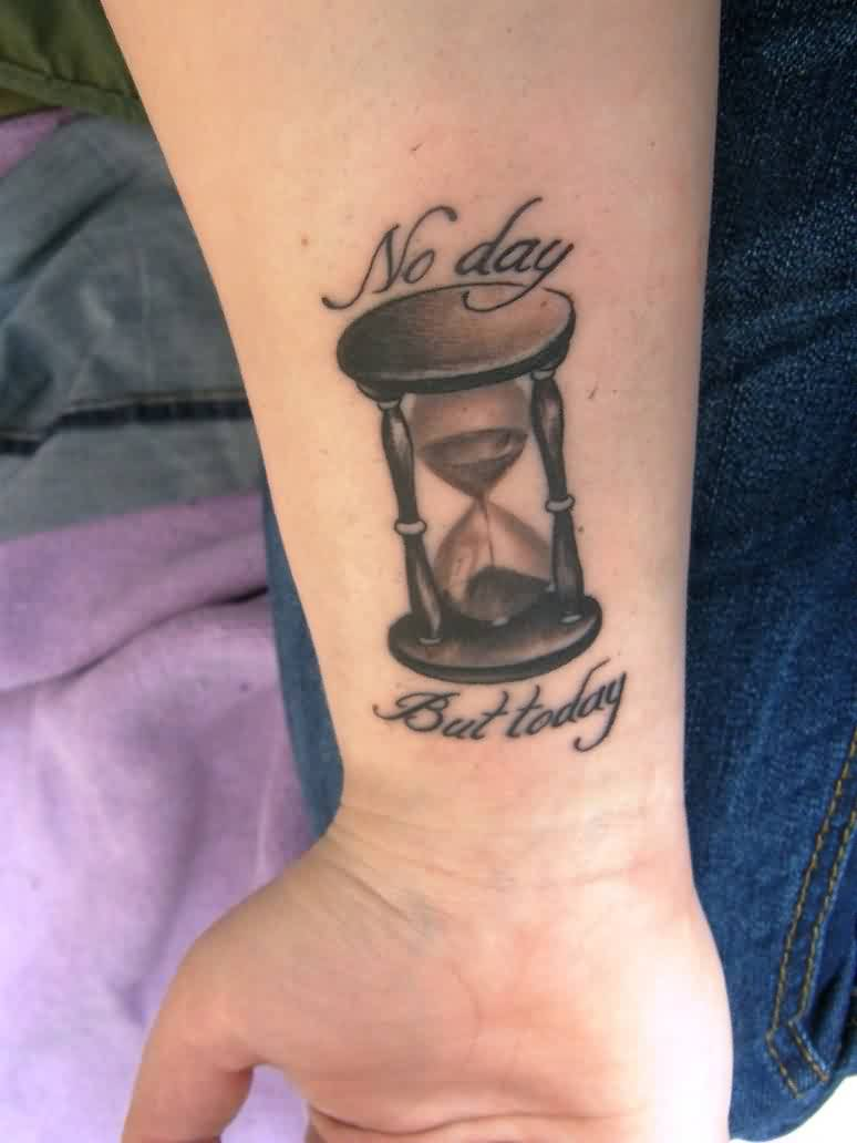 No Day But Today - Glass Tattoo