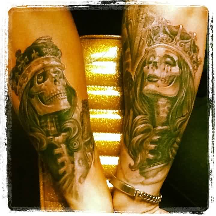 Og Abel King And Queen Tattoos