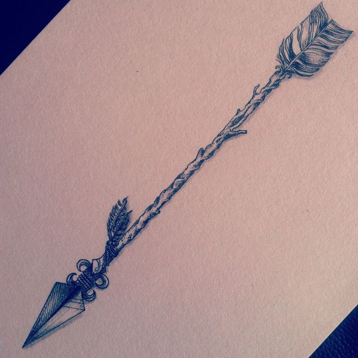 Old Arrow Tattoo Design Page