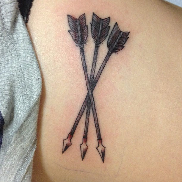 Old Arrows Tattoo