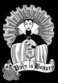 Pain Is Beauty Queen Tattoo Wallpaper