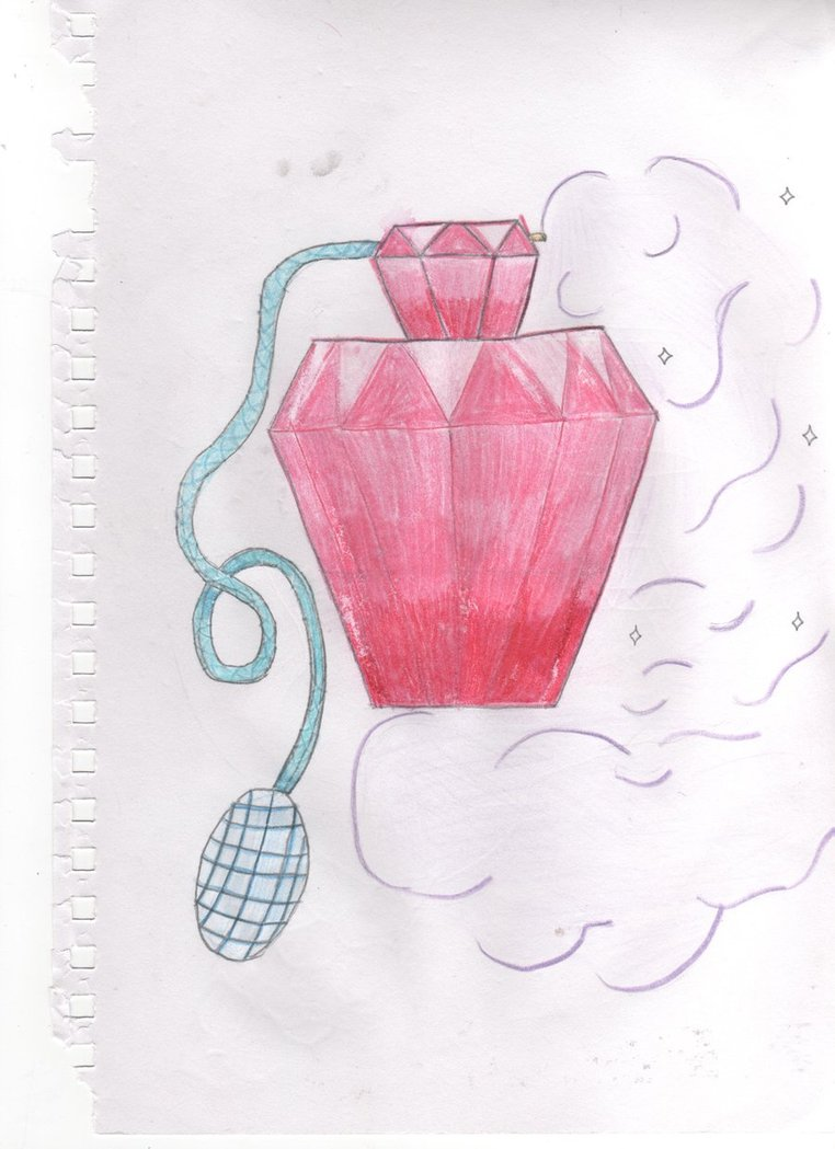 Perfume Bottle Tattoo Drawing