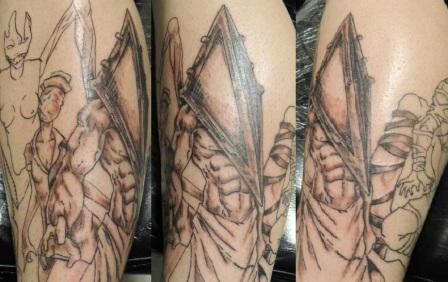 Pyramid Head Tattoos (2)