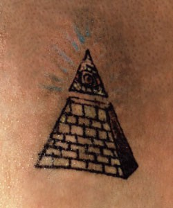 Pyramid Tattoo Flash