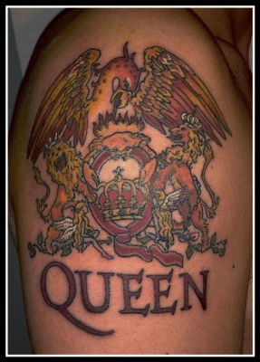 Queen Band Tattoo Photo