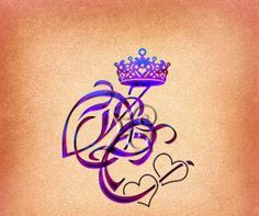 Queen Crown And Name Tattoo Designs (2)