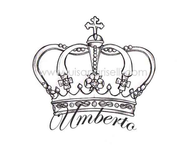Queen Crown And Name Tattoo Designs