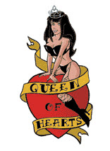 Queen Of Hearts Latest Tattoo Design