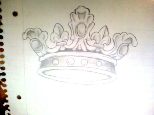 Queen Tattoo Drawing