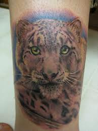 Real Looking Tiger Tattoo