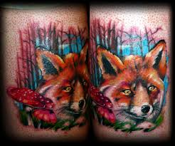 Realistic Wild Animal Tattoo