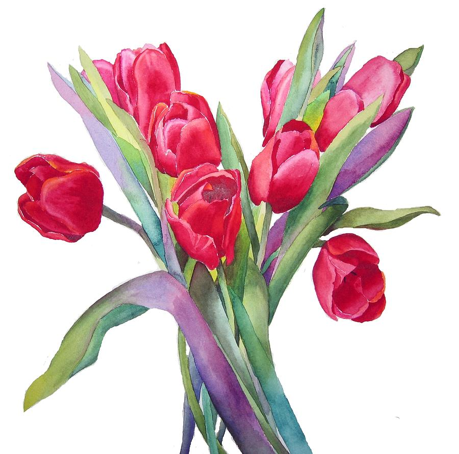 Red Tulips Tattoo Designs (3)
