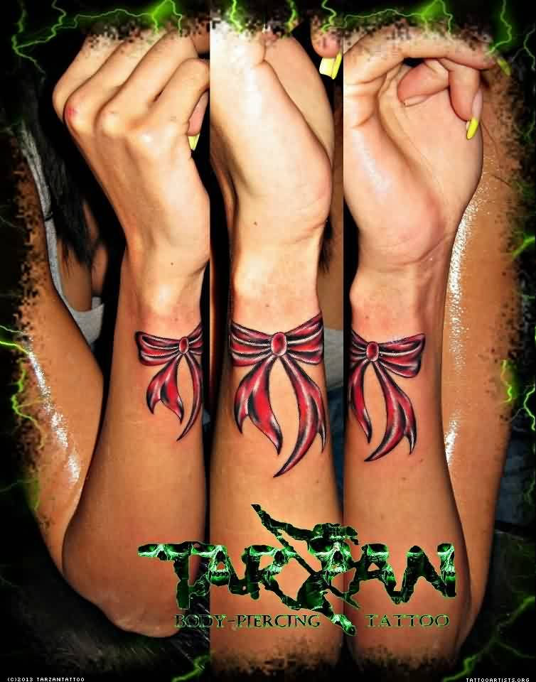 Ribbon Tattoo Tarzan