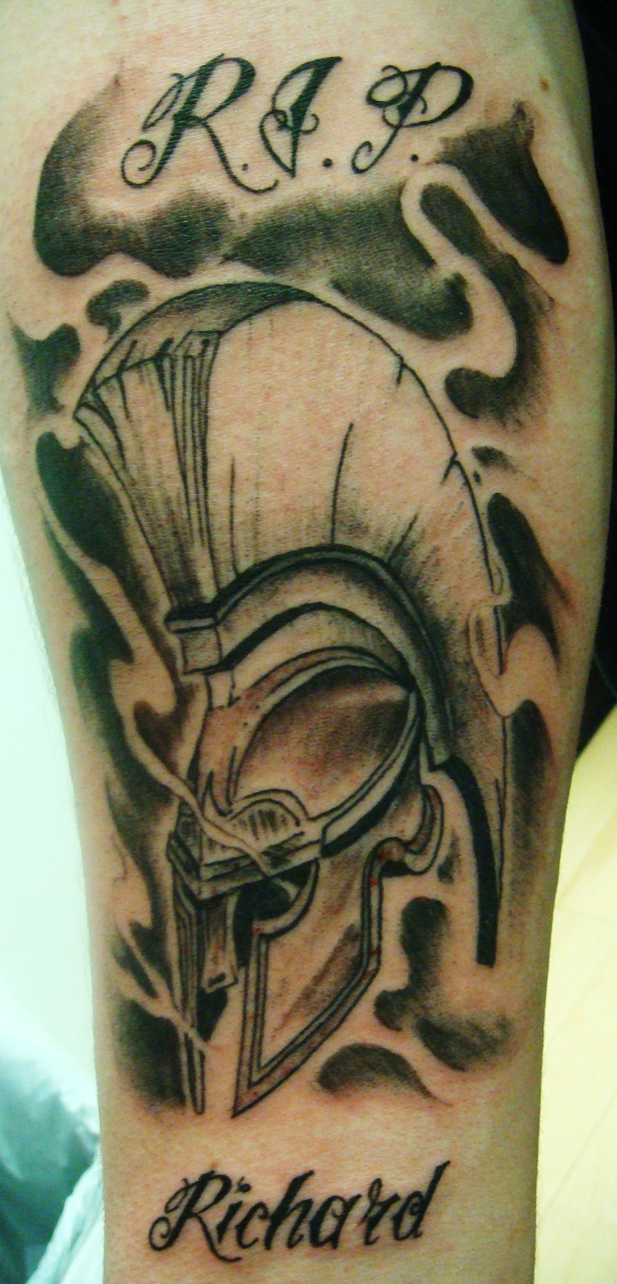 R.I.P - Helmet Tattoo (2)