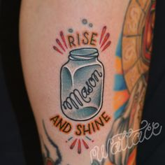 Rise And Shine - Bottle Tattoo