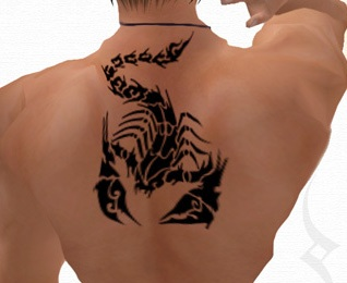 Scorpion Tattoo Design For Women And Men