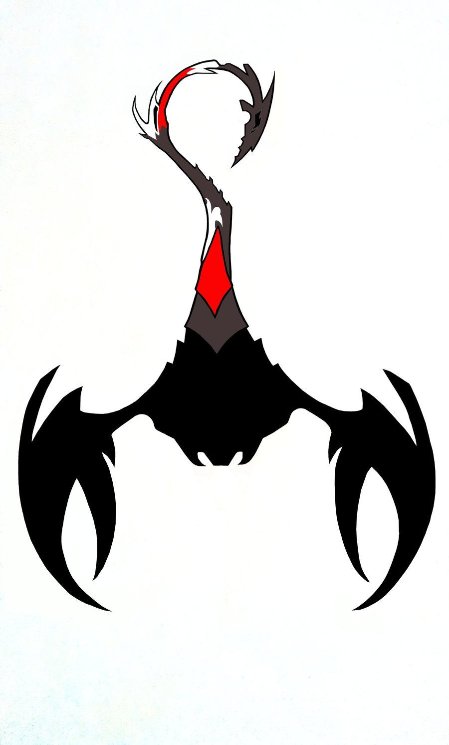Scorpion Tattoo Design In New Style