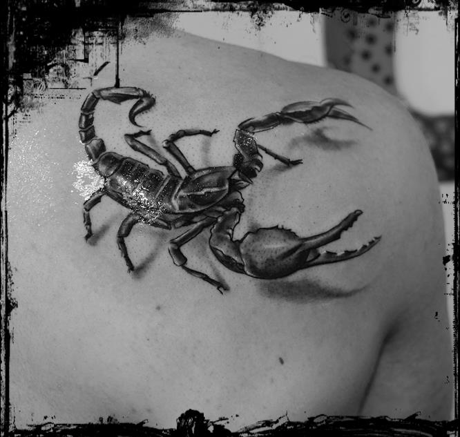 Scorpion Tattoo Photo (2)