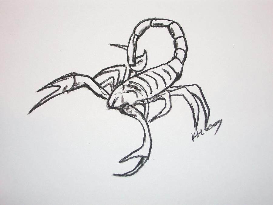 Scorpion Tattoo Sketch (2)