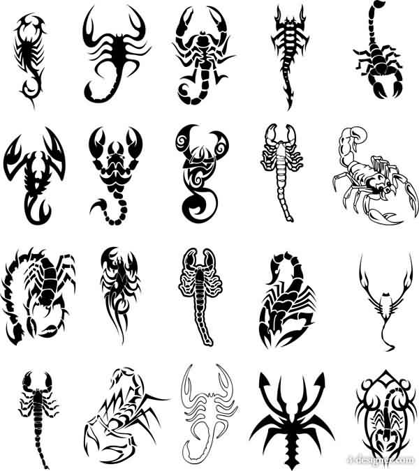 Scorpion Tattoos Collection (2)