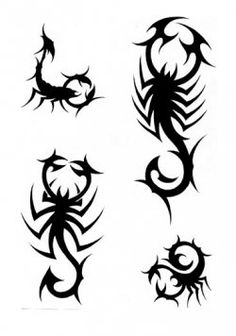 Scorpion Tattoos Pack