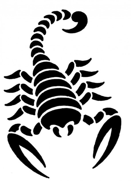 Scorpion Tribal Tattoo Sample (4)