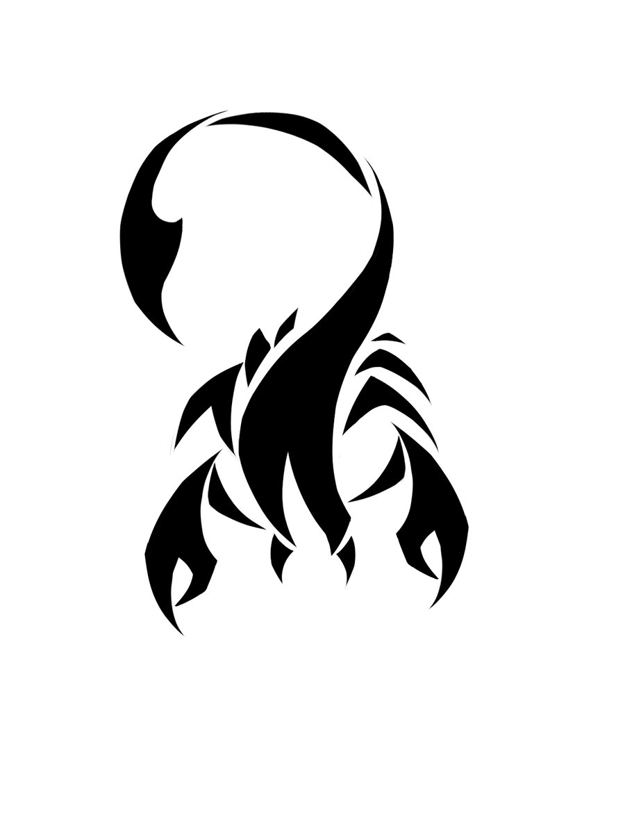 Scorpion Tribal Tattoo Version (10)